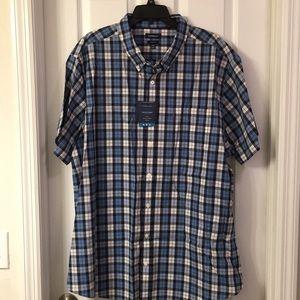 Croft and Barrow plaid shirt size 3XB